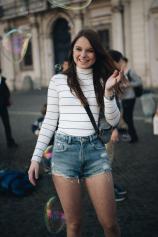 Piazza Navona mit seinen Straßenkünstlern