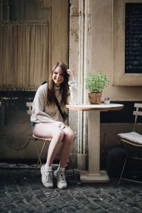 Kaffeepause im Casa & Bottega